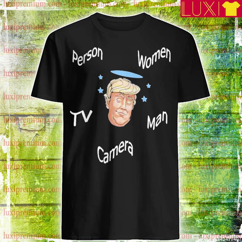 Angel Trump person women man camera Tv shirt