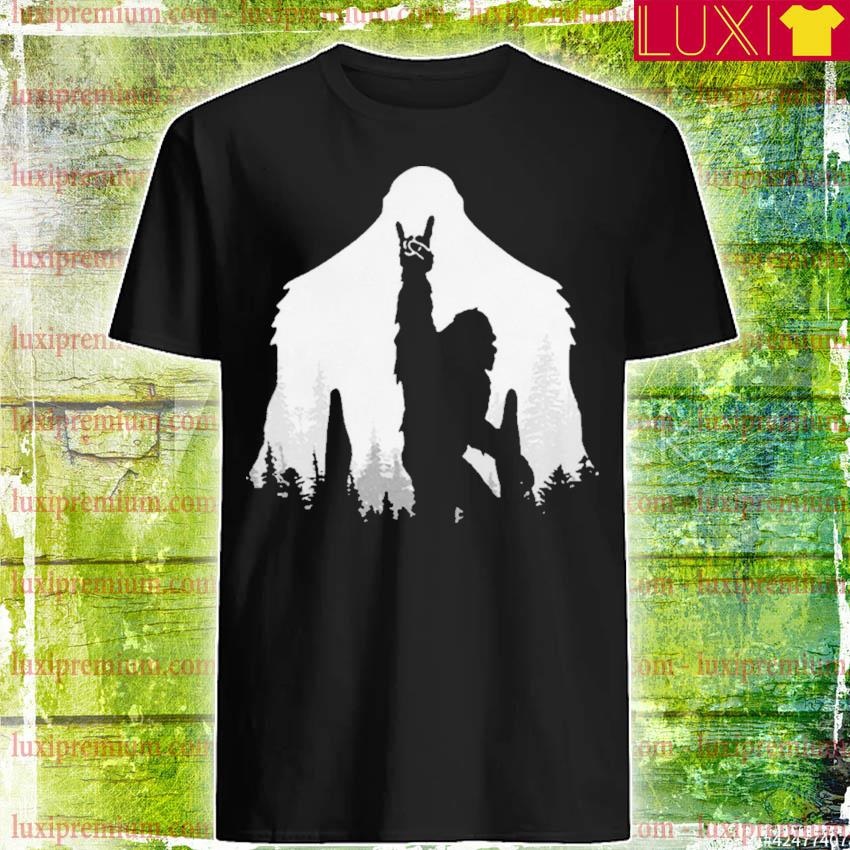 Bigfoot Rock and Roll shirt